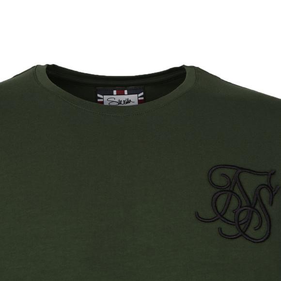 Sik Silk Mens Green Base Layer T Shirt main image