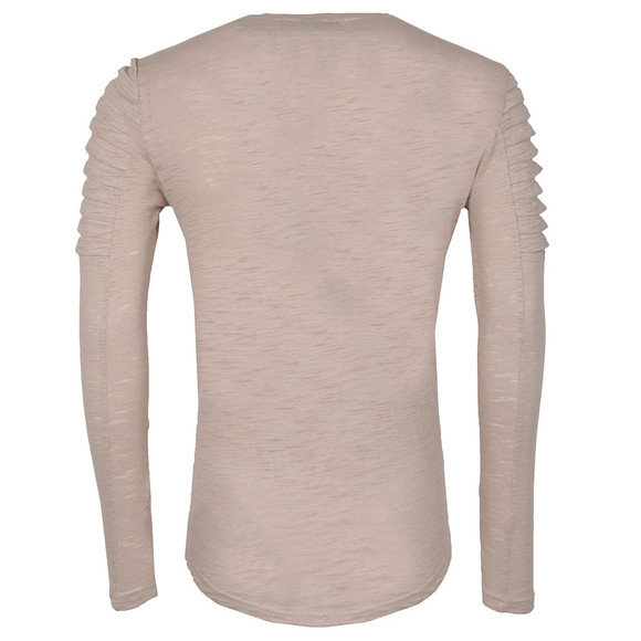 Project X Paris Mens Beige Long Sleeved T-Shirt main image