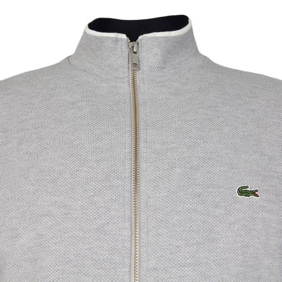 Lacoste Mens Blue SH9592 Full Zip Sweat main image