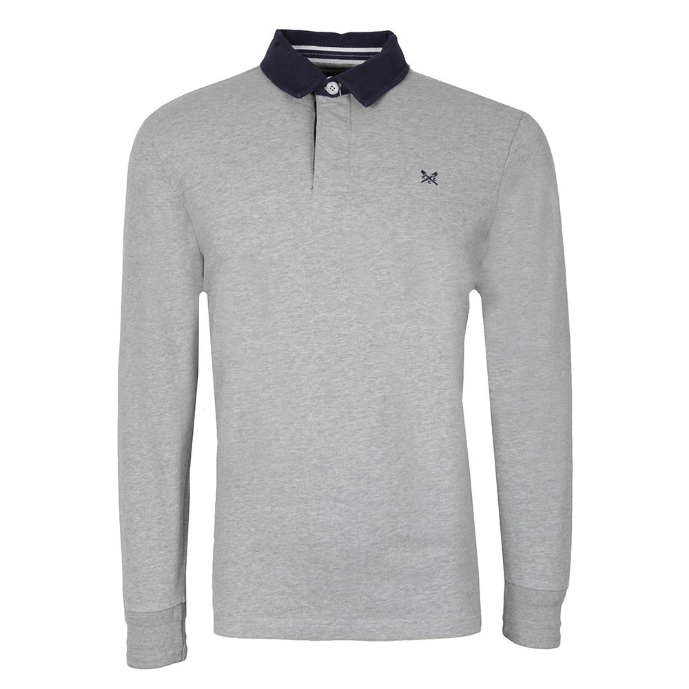 bd159ce4a57 Crew Clothing Company L/S Rugby Polo | Masdings