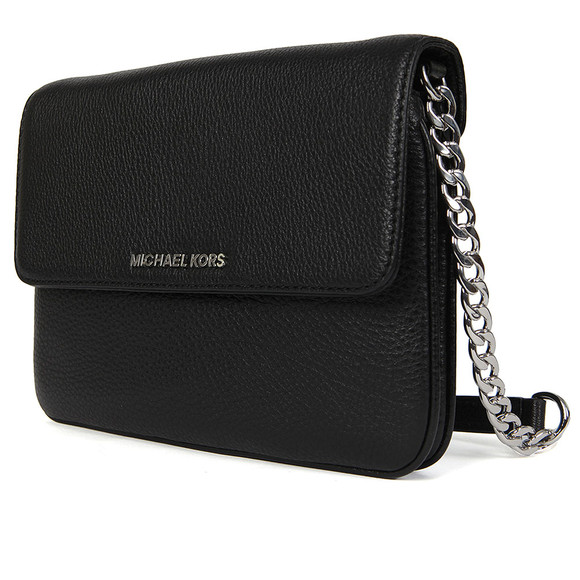 Michael Kors Womens Black Bedford Flap Crossbody Bag main image