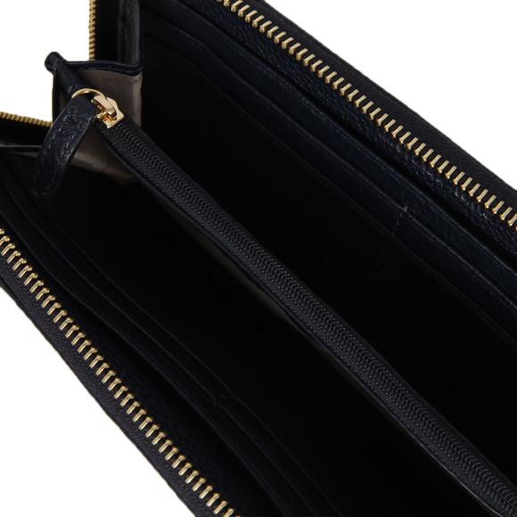 Michael Kors Womens Blue Bedford Continental Zip Purse main image