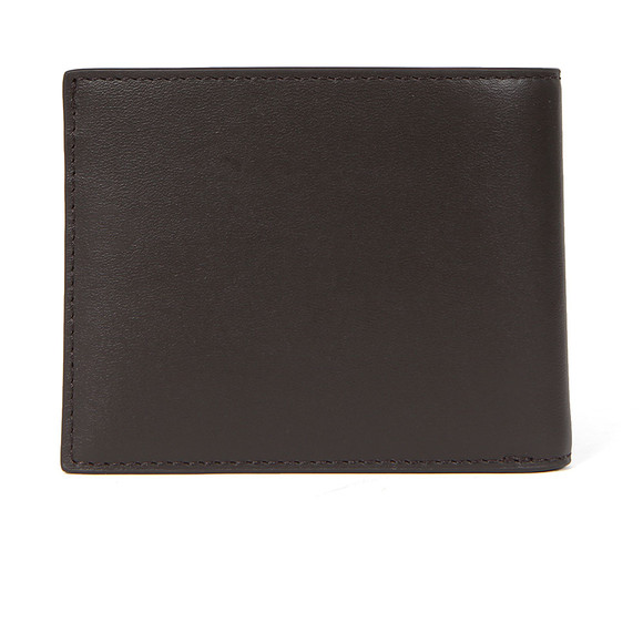 Lacoste Mens Brown Small Slim Billfold & ID Slot Wallet main image