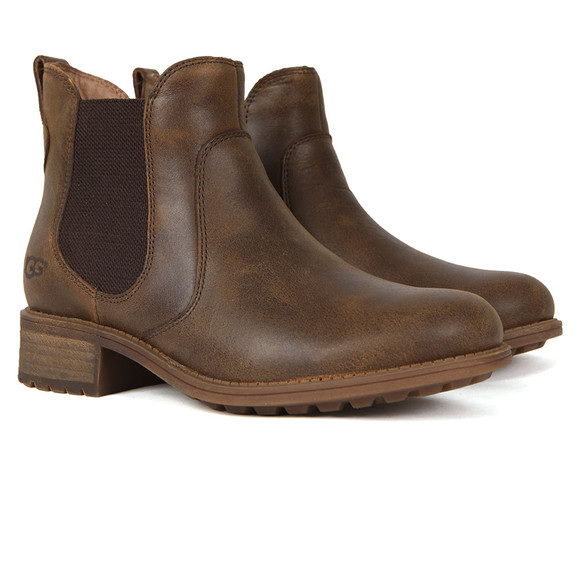 Ugg Womens Brown Bonham Ankle Boot main image