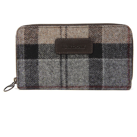 Barbour Lifestyle Womens Multicoloured Wool Tartan Purse main image