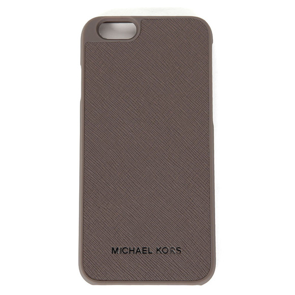 Michael Kors Womens Grey Saffiano iPhone 6 Cover  main image