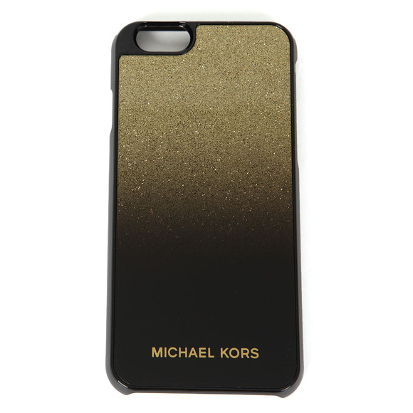 Michael Kors Womens Black iPhone 6 Cover main image