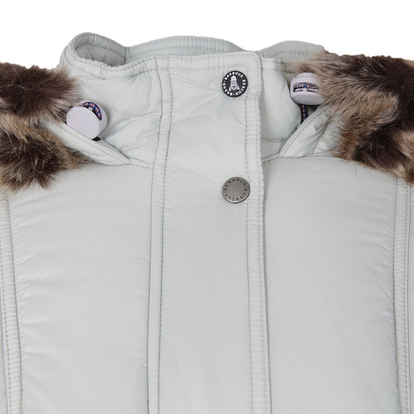 Barbour Lifestyle Womens Off-white Icefield Quilted Jacket main image