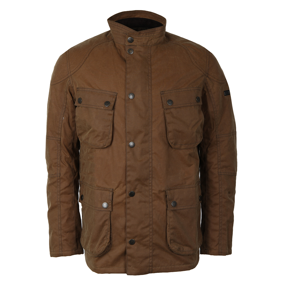 Barbour International Crank Wax Jacket | Masdings