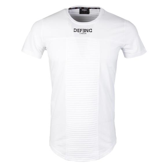 Defend London Mens White Hoorgate T Shirt main image