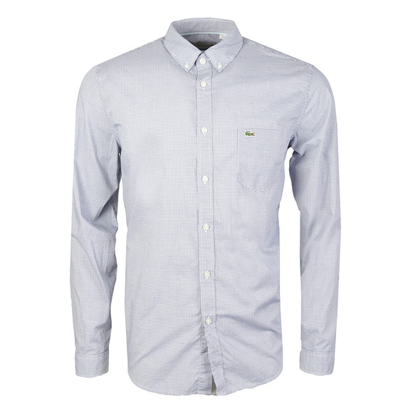 Lacoste Mens Blue CH9891 L/S Shirt main image