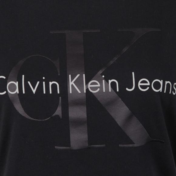 Calvin Klein Womens Black Teca-13 CN Crop Tee main image