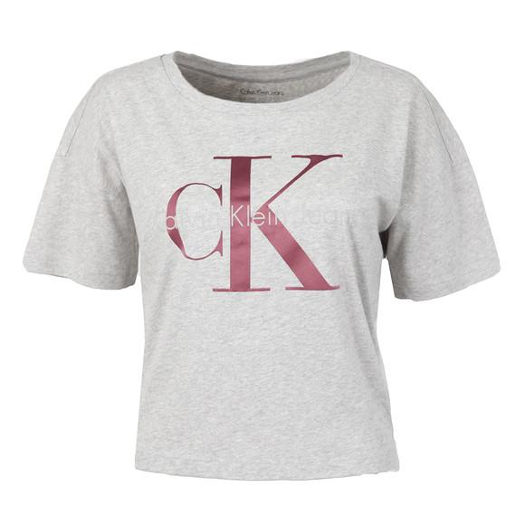 Calvin Klein Womens Grey Teca-13 CN Crop Tee main image