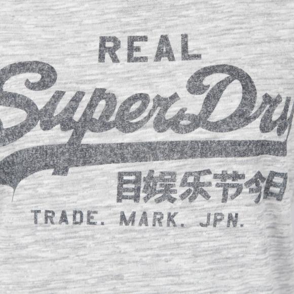 Superdry Womens Grey Vintage Logo Tee main image