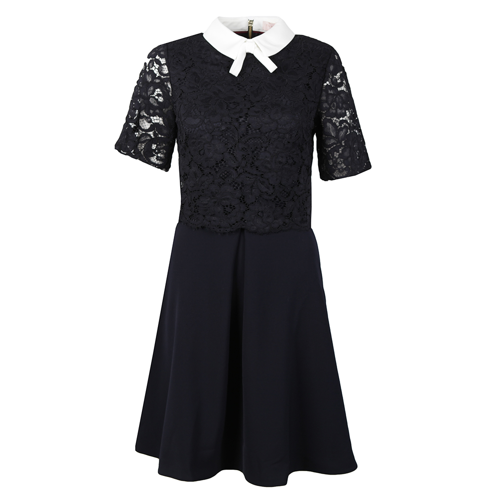 Dixxy Lace Bodice Double Layer Dress main image
