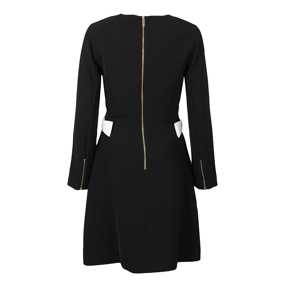 Emorly Side Bow Long Sleeve Dress main image