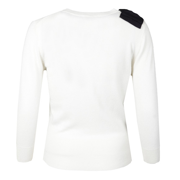 Ted Baker Womens Off-white Callah Bow Detail Jumper main image