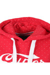 Superdry Womens Red Classics Polka Hoody