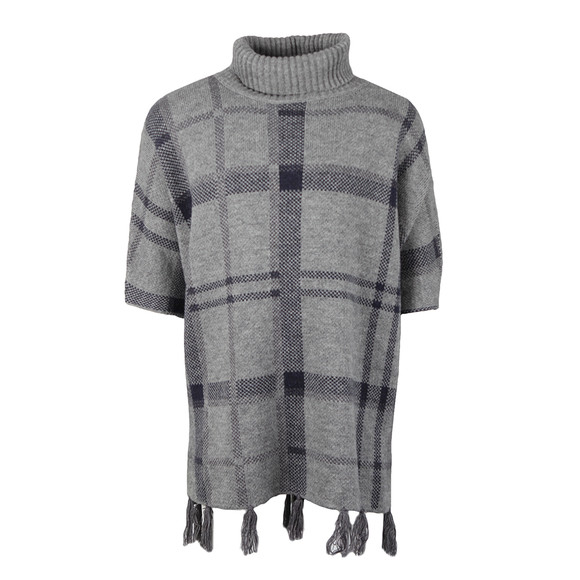 Barbour Lifestyle Womens Grey Nebit Cape main image