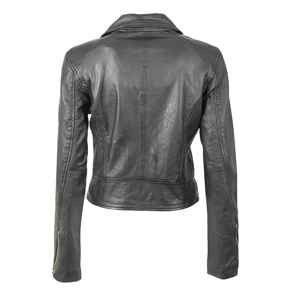Superdry Womens Black Bella Biker Jacket main image