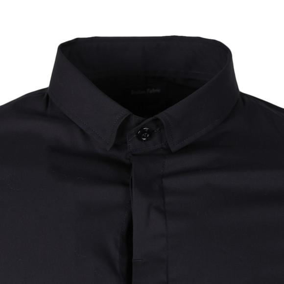 Armani Jeans Mens Blue Plain Shirt main image