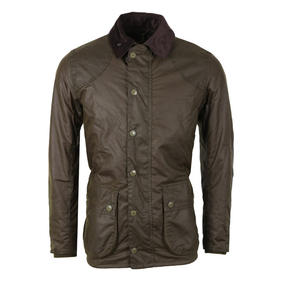 Barbour Lifestyle Mens Green Digby Wax Jacket main image