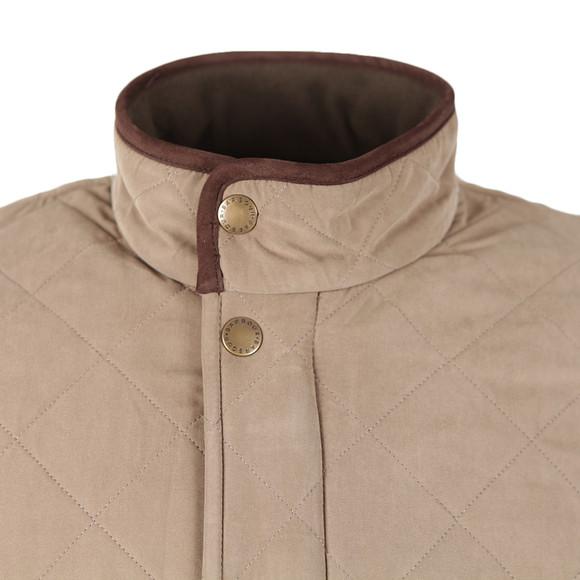 Barbour Countrywear Mens Beige Bowden Quilt main image