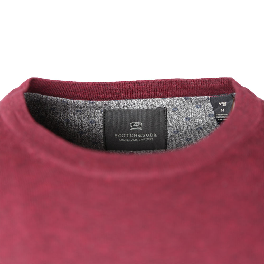 Cotton Melange Crew Neck Jumper main image