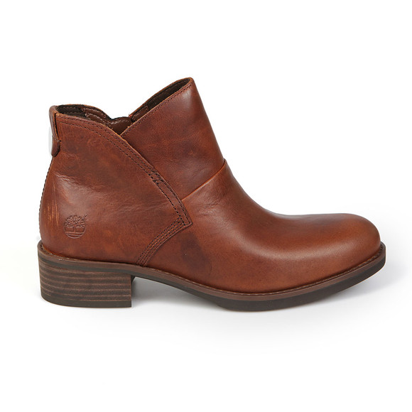 Timberland Womens Brown Beck With Side Zip Boot main image