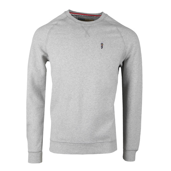 Barbour Steve McQueen Mens Grey Sweat main image