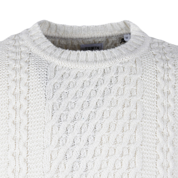 Edwin Mens Off-white United Sweater main image
