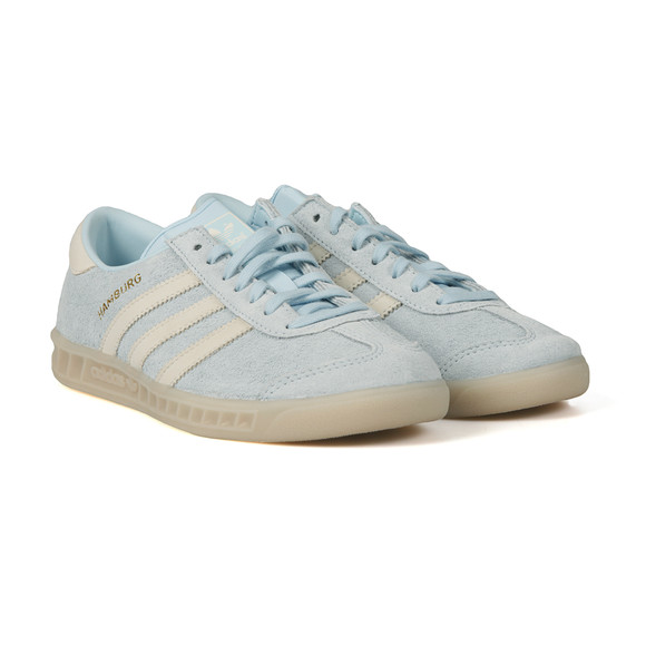 Adidas Originals Womens Blue Hamburg Trainer main image