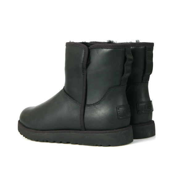 Ugg Womens Black Cory Leather Boot main image