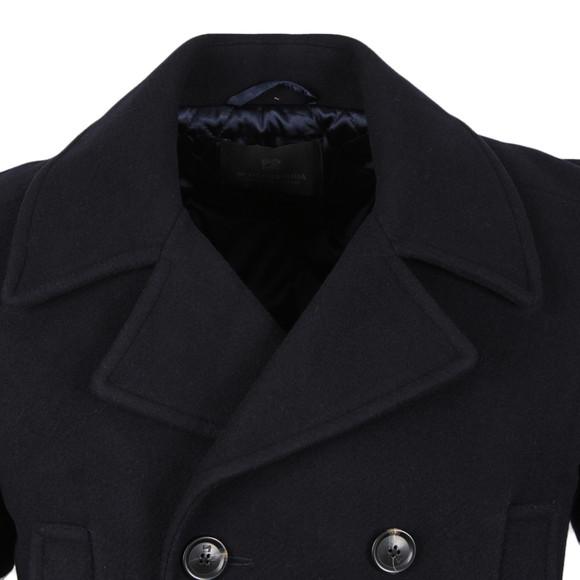 Scotch & Soda Mens Blue Caban Wool Jacket main image
