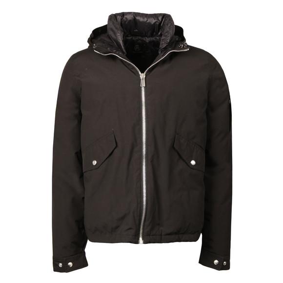 Paul Smith Mens Black Hooded Down Jacket main image
