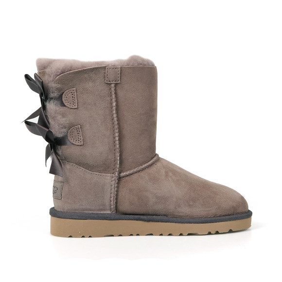 Ugg Girls Grey Bailey Bow Boot main image