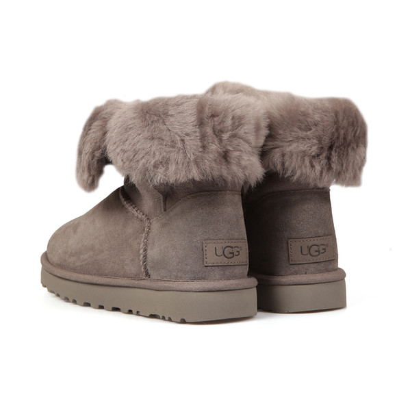 Ugg Womens Grey Bailey Button II Boot main image