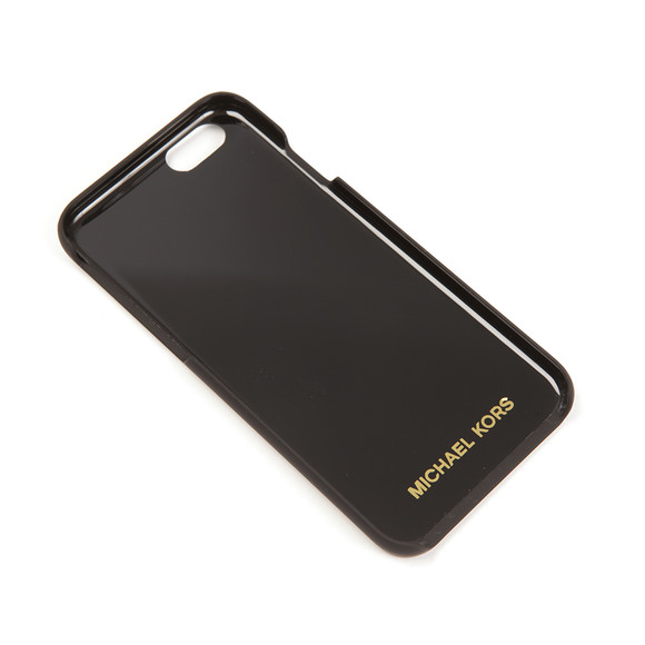 Michael Kors Womens Black Saffiano iPhone 6 Cover  main image