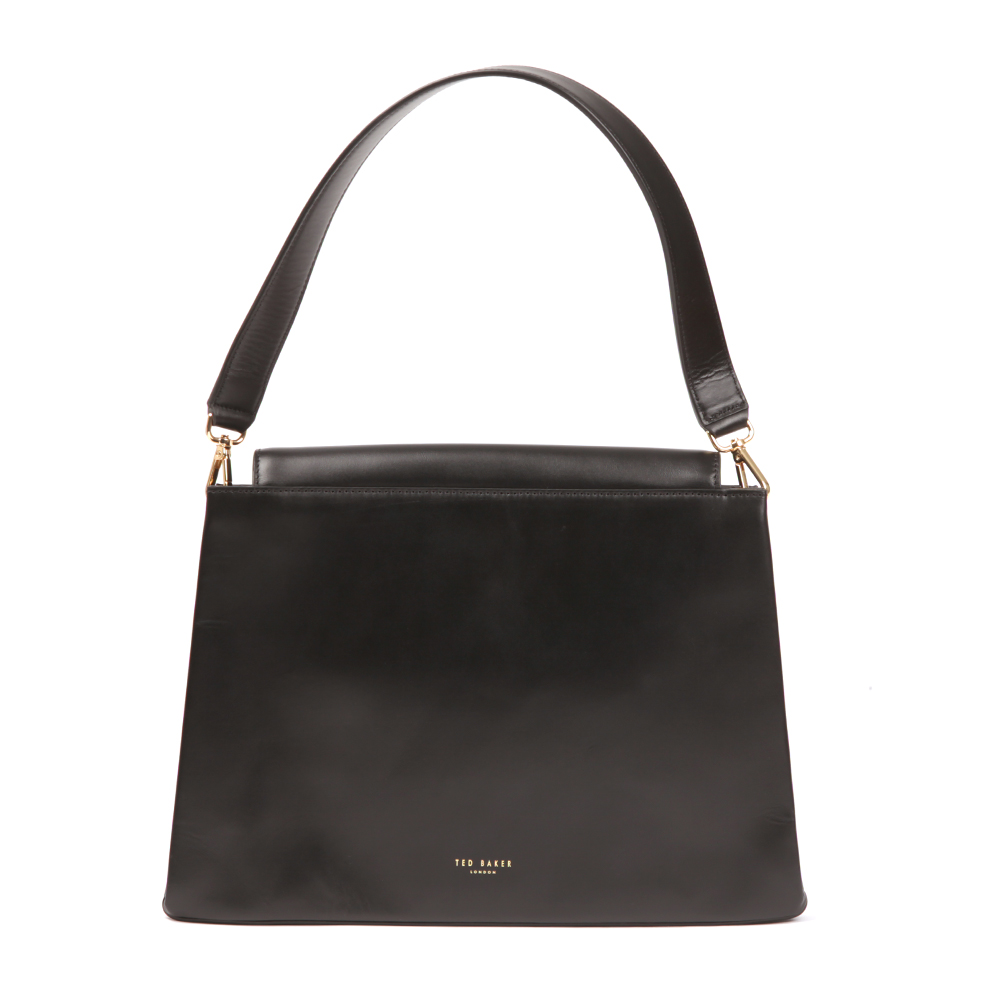 Fionah Folded Edge Detail Shoulder Bag main image