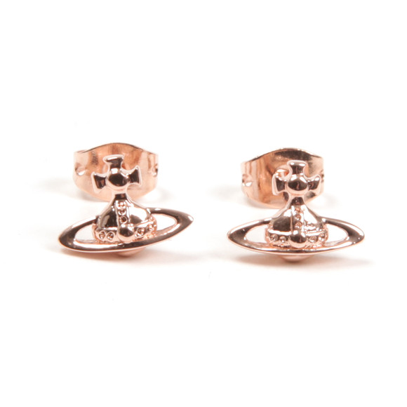 Vivienne Westwood Womens Bronze Lorelei Stud Earrings main image