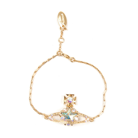 Vivienne Westwood Womens Gold Astrid Bracelet main image