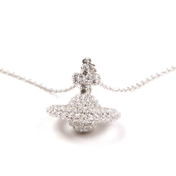 Vivienne Westwood Womens Silver Grace Small Pendant main image