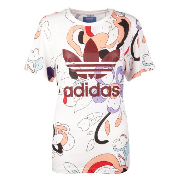 Adidas Originals Womens Multicoloured Rita Ora T Shirt main image