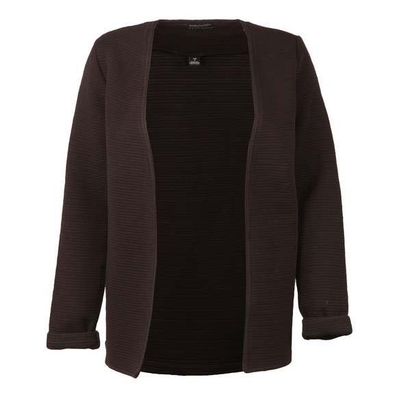 Maison Scotch Womens Black Sweat Blazer main image