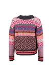 Maison Scotch Womens Multicoloured Knitted Cardigan