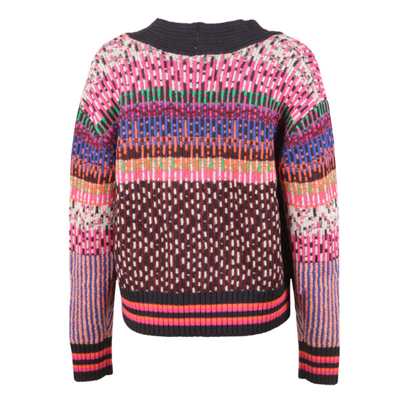 Maison Scotch Womens Multicoloured Knitted Cardigan main image