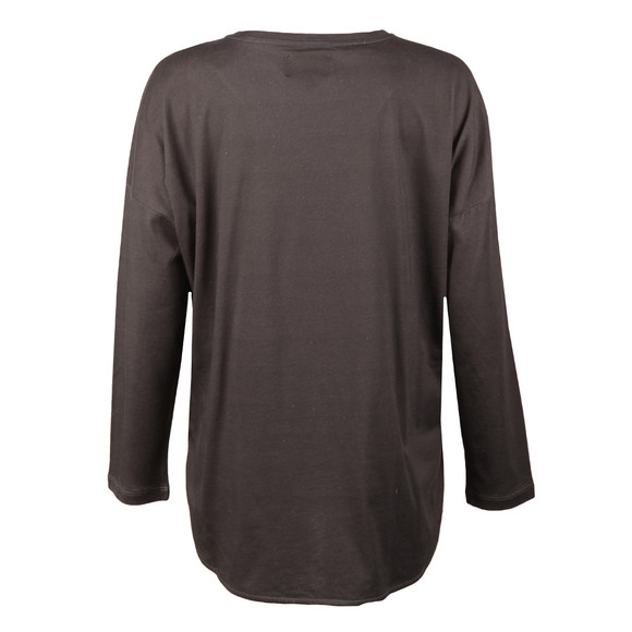 Barbour International Womens Grey Visor T Shirt main image