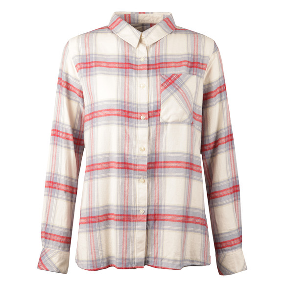 Barbour Lifestyle Womens Red Tidewater Shirt main image