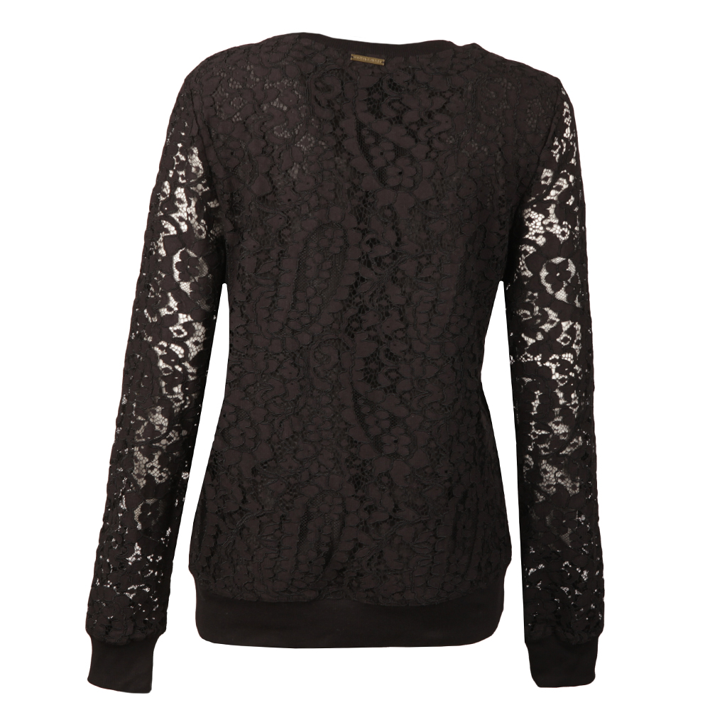 Lace Rib Sweatshirt main image