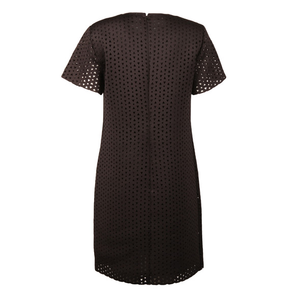 Michael Kors Womens Black Laser Cut Dress main image